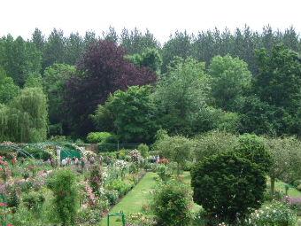 モネ自宅前の庭2