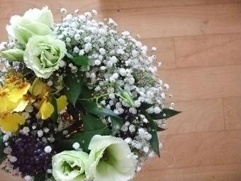 花リース(上)