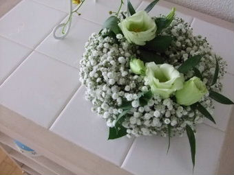 花リース2