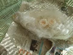 プリザ花飾り