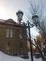 大通り冬景色